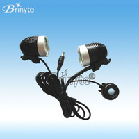 Super high power cree xml t6 led bicycle light over 1700lms
