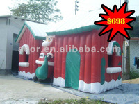 Popular christmas house/Xmas decoration(In stock)