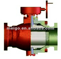 Three Phase Steel Forging Ball Valves(API 6D series)