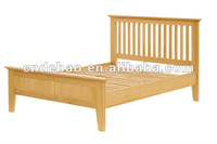 pine wood bed