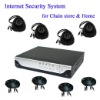 Internet security system for chain store and home