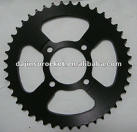 Motorcycle roller chain rear sprocket