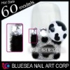 3D nails fluffy
