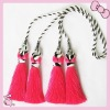 New style Lovely pink curtain tassel