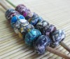 turquoise bead/natural stone bead europe style /103 pcs for sell
