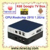 Hot sell Android 2.3 Google TV Box K88 with Rockchip 2918 CPU