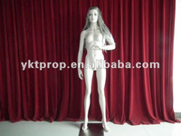 FRP material, imitate reality female skin mannequins