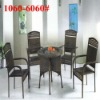 Outdoor wicker stacking chair of Classical Style outdoor furniture turkey Wicker Rattan Set (1060#-6060#)