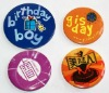 colorful and beautiful flashing el badge ( factory price, good quality, timely send, durable)