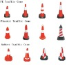 PE/PLASTIC /Rubber reflectiveTraffic road cone