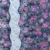 fashion chiffon water soluble embroidery fabric