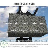 Hot dipped galvanized gabions