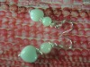 925silver amazonite earring fashion jewelry set