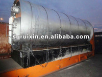 2012 environmental friendly equipment waste tyre pyrolysis equipment with ISO9001