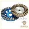 Turbo Diamond cup wheel for grinding stone concrete