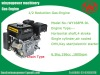 1/2 china reduction gasoline engine168FBD-L for go kart