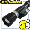 225 Lum tactical torch light,Light+Green Laser\Red Laser
