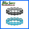 latest trend hollow silicone bracelet
