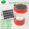 Outdoor Solar Rechargeable Multifuction Lantern with Radio