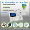 CE approved Dual network(GSM/PSTN) Intelligent GSM alarm system