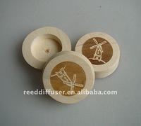 logo printed wooden cap/laser cap