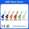 1GB Plastic and metal Swivelled USB flash memory