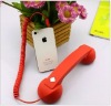 Led light cheap coco phone handset for mobile