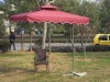 Cheap patio two top square umbrella