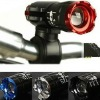 Rotating Focus Flashlight For Bicycle Or Camp CREE Q3 Four Colour Can Choose