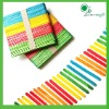 "Wholesaler Standard and Colored Birch Wood Lolly Sticks 41/2""x3/8"""