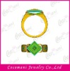 Hot sale jewelry metal fashion copper brass finger ring