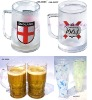 Plastic double wall Freezer Mugs & Pilsners