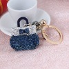 2012 hot sale design crystal keychain/bag pendant
