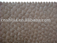 PU coated suede fabric for sofa
