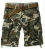 Men fashion camouflage shorts board shorts