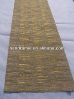 hand-made natural ramie fabric table runner/table mat