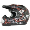 Full face motorcycle helmet for cross-country