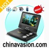 Portable Multimedia DVD Player with 7 Inch Swivel Screen