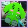 lovely green elephent silicone cell phone accessories for 4S