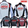 Racing jacket motorcycle SIMPSON leather jacket armor SJ-2135