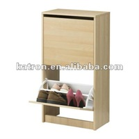 Storage organizer wood Shoe Rack