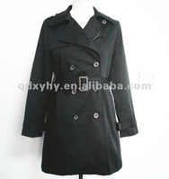 2013 woman fashion wind coat