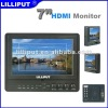 "Lilliput 7"" HDMI Input and Output Professional Camera monitor with Peaking Filter,False Colors,Exposure,Histogram.665-/S/P"