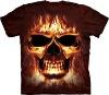 big size men's new design 3D printing round neck t-shirt