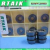 ZCCCT RTAIK CVD coating Black color cemented Carbide Inserts cutting tool RDMW1204MO