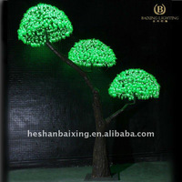LED artificial ficus tree light