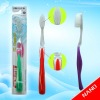 2012 new design hot sell good quality two color silver nano bristle toothbrush