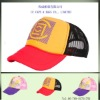 stylish 5 panel printing trucker baseball hat ccap-0631
