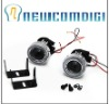 Newcomdigi H3 HID Ready Projector Fog Lights Lens Lamps Kit With White Led Light