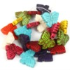 25mm butterfly gemstone beads wholesale TQB0074